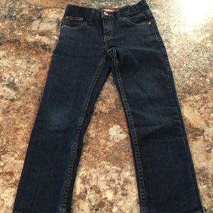 Boys size 6 dark wash Arizona Jeans like new